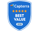 Capterra Best Value Badge in Exam Software Category