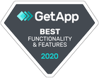 GetApp Functionality Badge in Exam Software Category